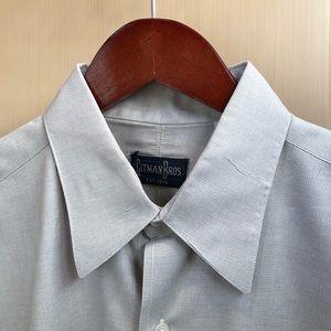Gitman Bros Oxford Button Up Dress Shirt, 15.5